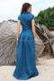 Dress Blue Emerald 012477 2