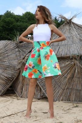 Skirt Summer Flowers