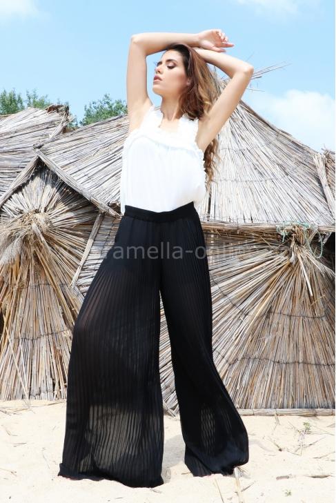 Pants Black Plush 032110