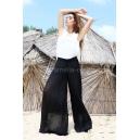 Pants Black Plush