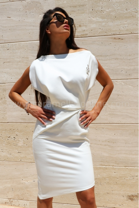 Dress White Chanel 012485