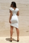 Dress White Chanel 012485 4