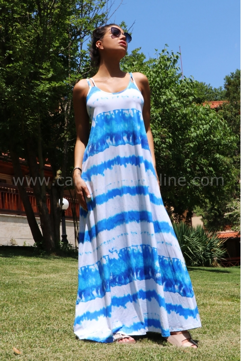 Рокля Bеаch Dress Blue 012487