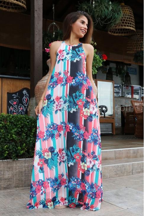Рокля Tropic Dress 012494
