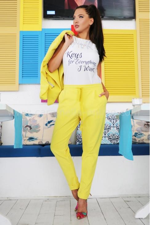 Pants Yellow Shine 032115