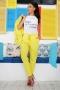 Pants Yellow Shine 032115 2