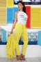 Pants Yellow Shine 032115 3