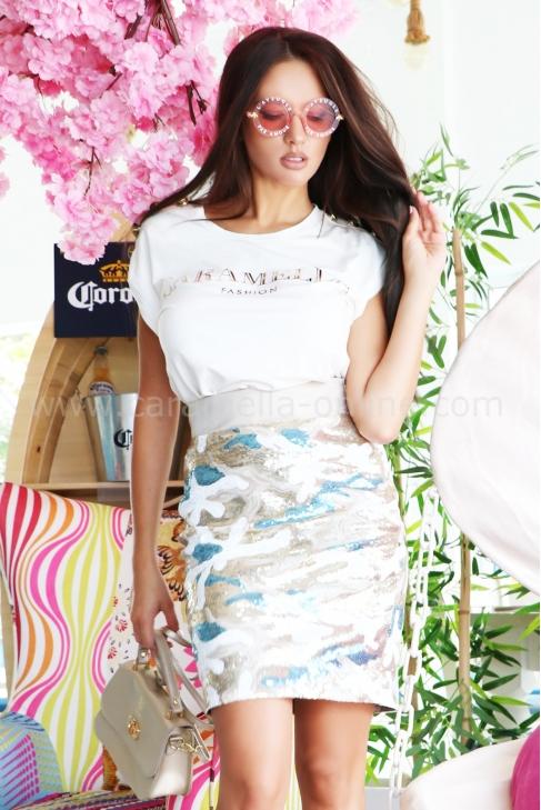 Блуза Caramella White Gold 022338