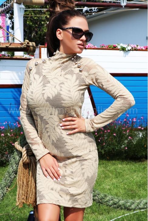 Dress Beige Balmain 012517