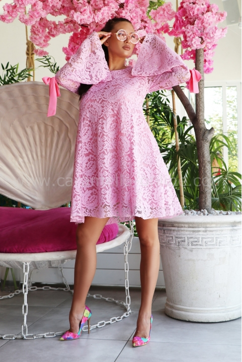 Рокля Pink Lace 012518