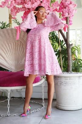 Рокля Pink Lace