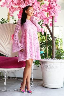 Dress Pink Lace