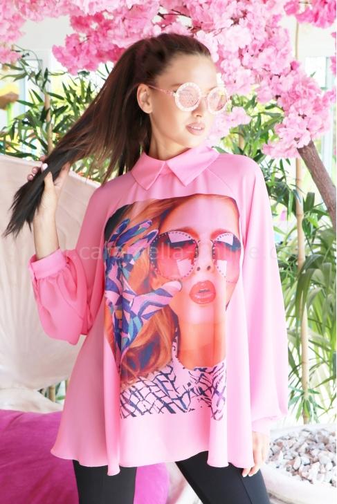 Tunic Pink Lady 022345