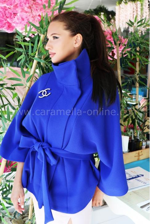 Coat Blue Chanel 062042