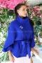Coat Blue Chanel 062042 3