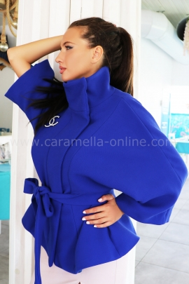Coat Blue Chanel