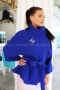 Coat Blue Chanel 062042 5