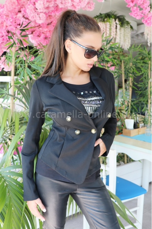 Blazer Black Style 052054