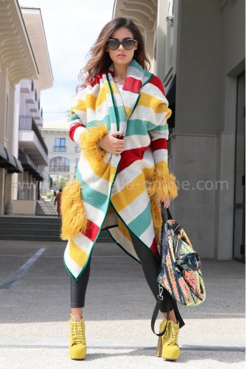 Cardigan Multicolor 052056