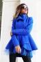 Палто-жилетка Тurquoise 3