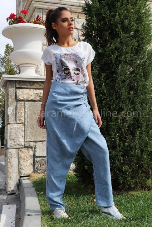 Pants Blue Jacky 032117
