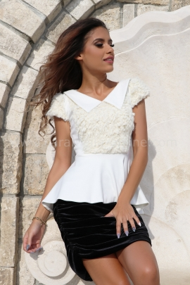 Blouse White Softness