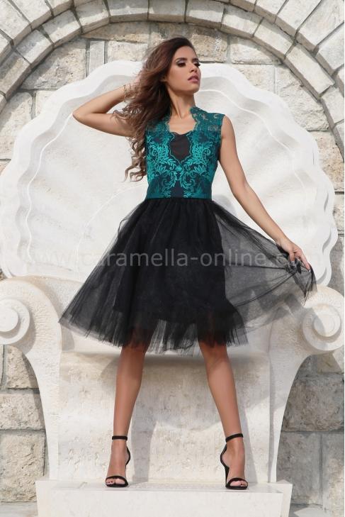 Dress Lux Lace Emerald 012534