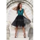 Dress Lux Lace Emerald