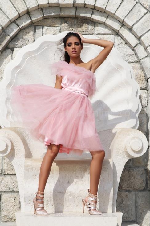 Dress Pink Girl 012537
