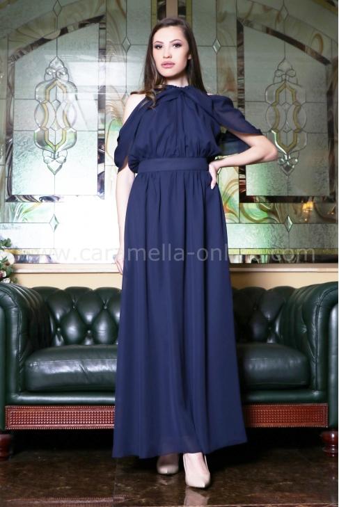 Dress Blue Sasha 012431