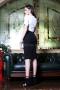Dress White & Black 012442 4