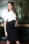 Dress White & Black 012442 1