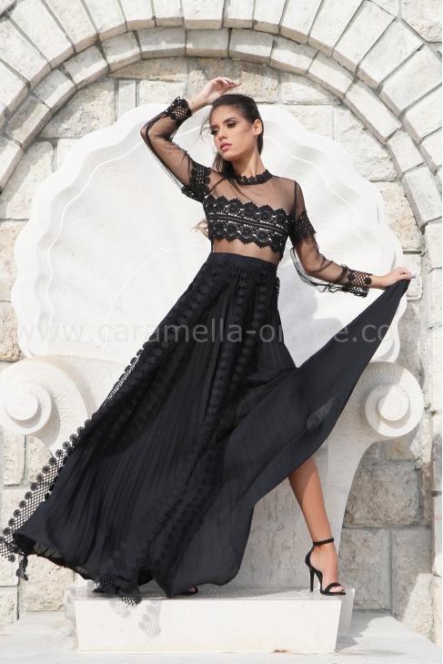 Dress Black Princess 012538