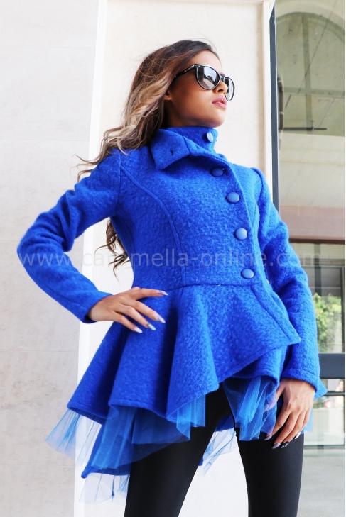 Coat-cardigan Тurquoise 062047