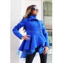 Coat-cardigan Тurquoise