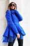 Coat-cardigan Тurquoise 062047 3