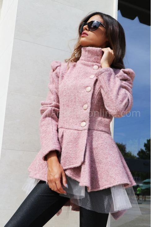 Палто-жилетка Pink Passion 062048