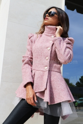 Coat-cardigan Pink Passion