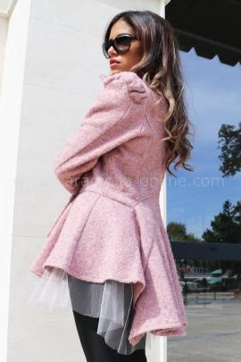 Палто-жилетка Pink Passion
