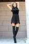 Къси панталонки Black Chanel 032132 1