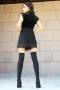 Къси панталонки Black Chanel 032132 4
