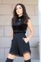 Къси панталонки Black Chanel 032132 2