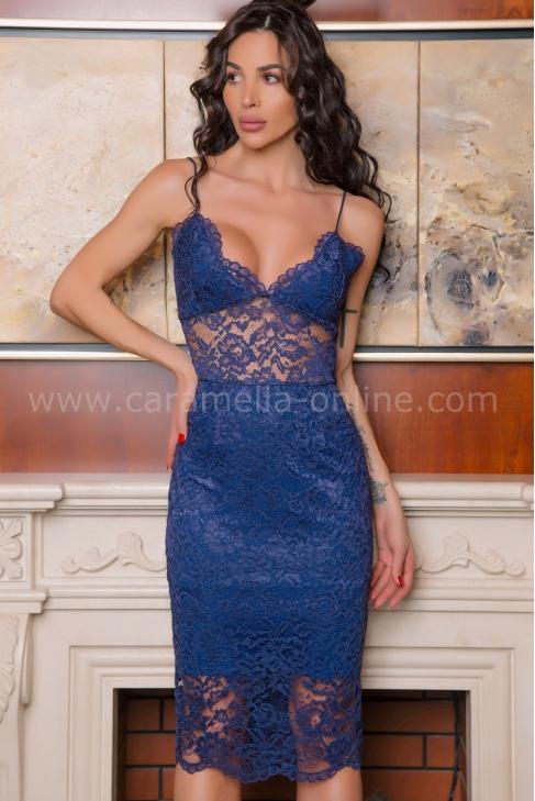 Рокля Royal Blue 012560