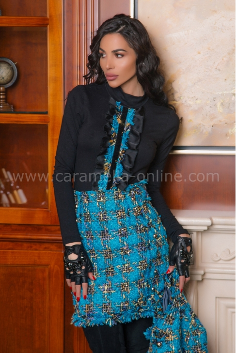 Блуза Casual Chanel Blue 022373