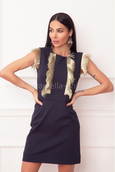 Рокля Gold Cher 012574