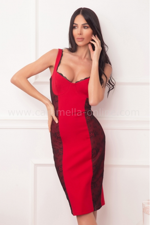 Рокля Moulin Rouge 012578