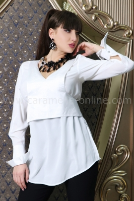 Риза White Ann