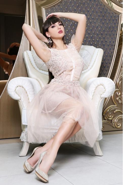 Рокля Peach Girl 012596