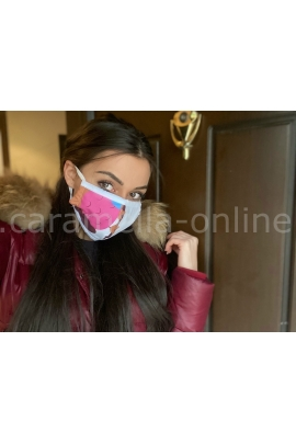Предпазна маска за многократна употреба - Детска