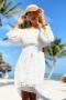Рокля Vanilla White 012617 3